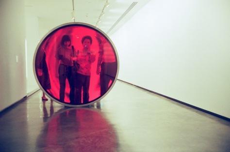 Film 2: Kodak Portra 800 @ Anish Kapoor Exhibition MCA Sydney